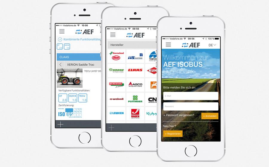 AEF Isobus database app