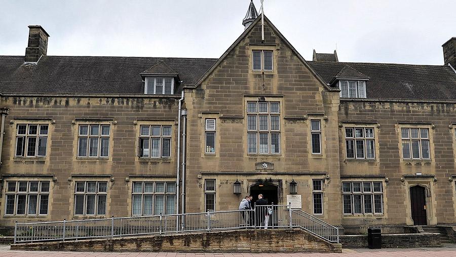 Carlisle Magistrates' Court © Bruce Adams/ANL/Shutterstock
