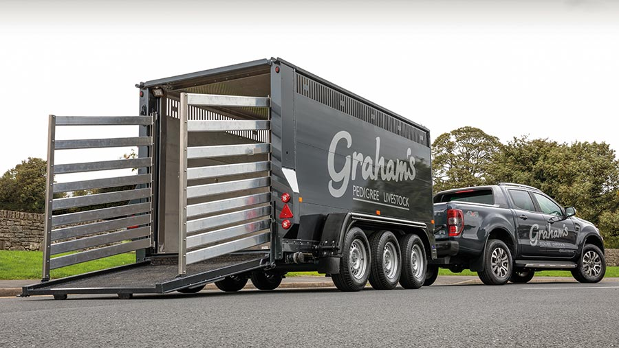 Houghton Parkhouse trailer
