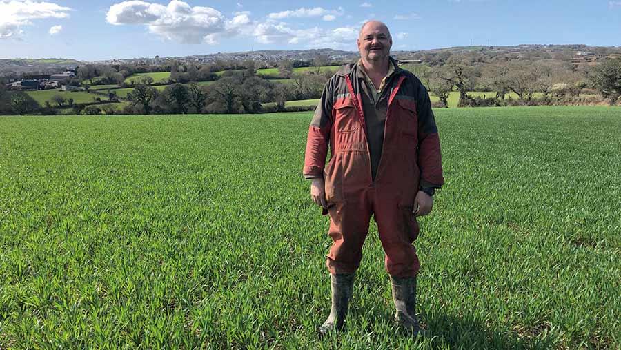 Jason Chapman in field