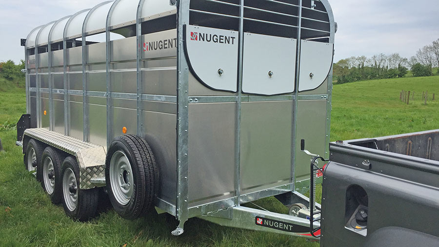 Nugent trailer