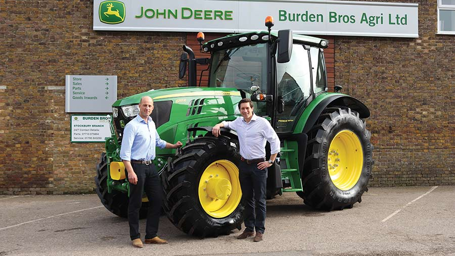 Dealers with JD tractor