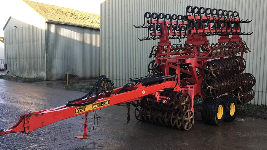 Vaderstad Rexius Twin 830