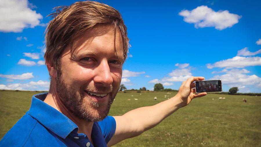 Tom Martin, founder of Farmer Time © Farmer Time
