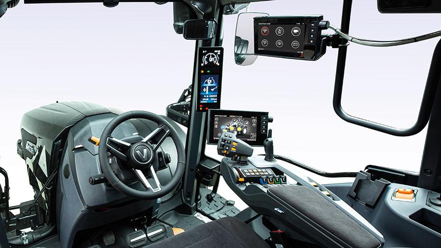 Valtra N-series cab interior