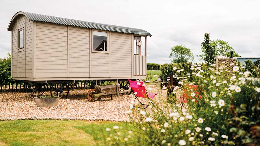 West Hale Gate Glamping © Mandy Lindley