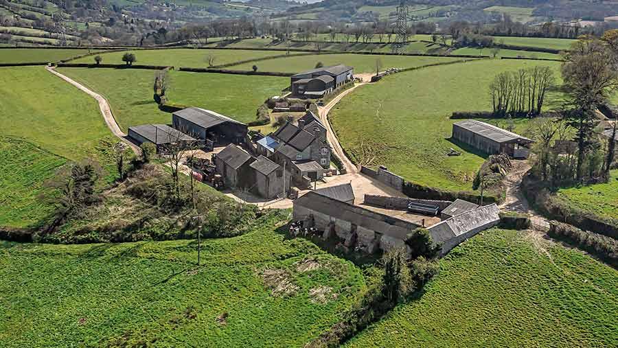 Cleave Farm, near Honiton in Devon