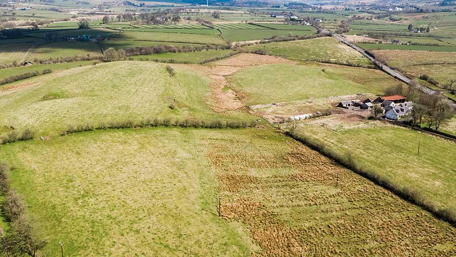 Over Gree Farm, near Beith, North Ayrshire