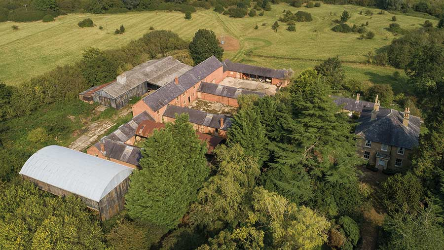 Strawberry Hill Farm, near Knotting Green in Bedfordshire