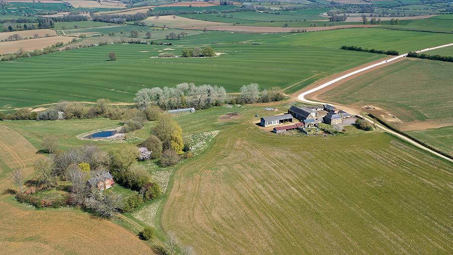 Sutton Lodge Farm, near Banbury in Oxfordshire