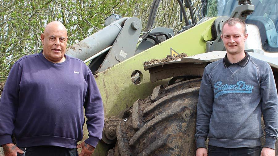 Andy Thurston (left) and Jack Lanham