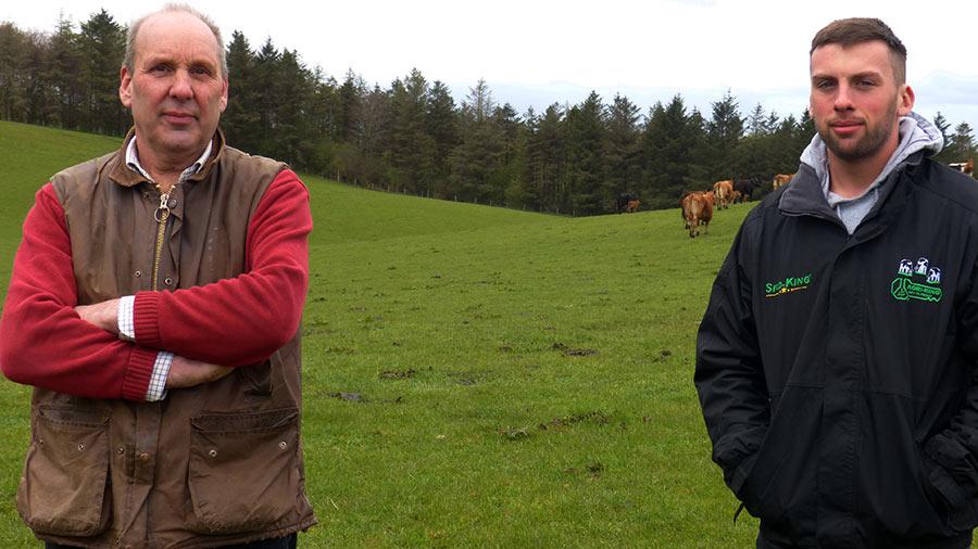 Edward Dean and Ollie Dean of Kirkhouse