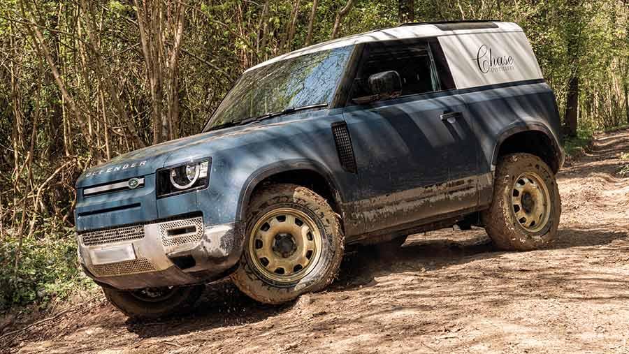 Defender 90 © Land Rover
