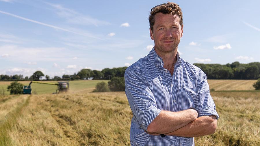 Robert Price on Strouds Farm © MAG/Tom Askew-Miller