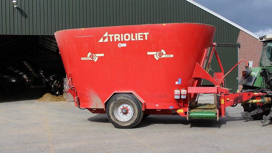 Solomix mixer wagon