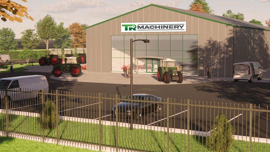 TR Machinery depot
