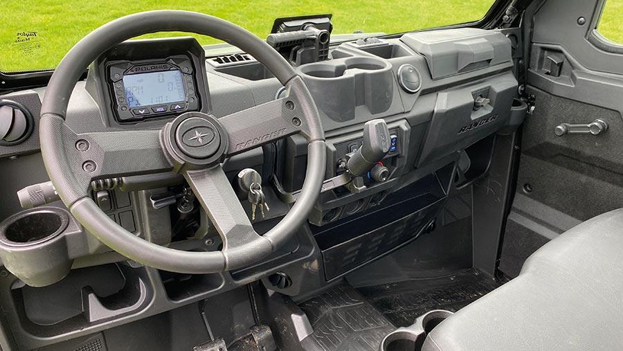 Cab in Polaris Ranger