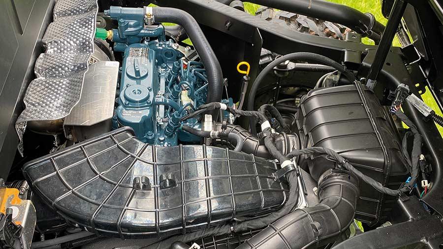 Engine of Polaris Ranger YTV