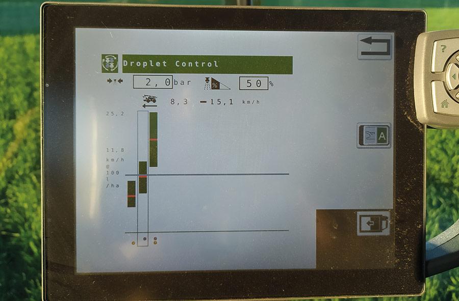 Optinozzle screen