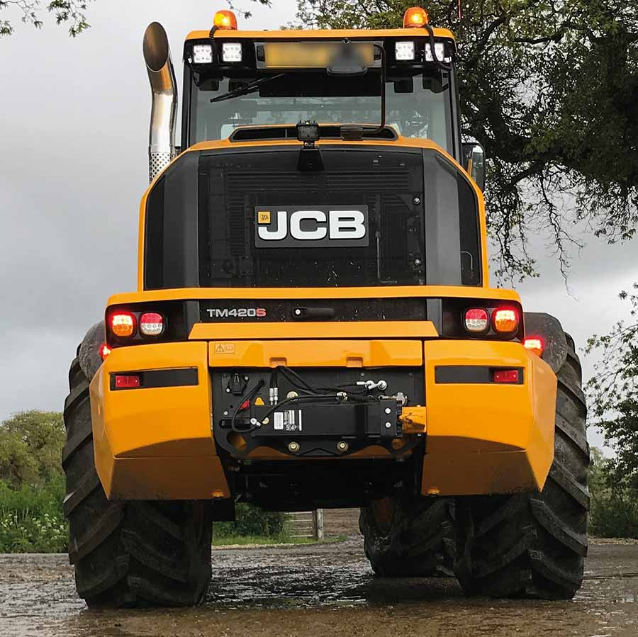 JCB TM420S from the back