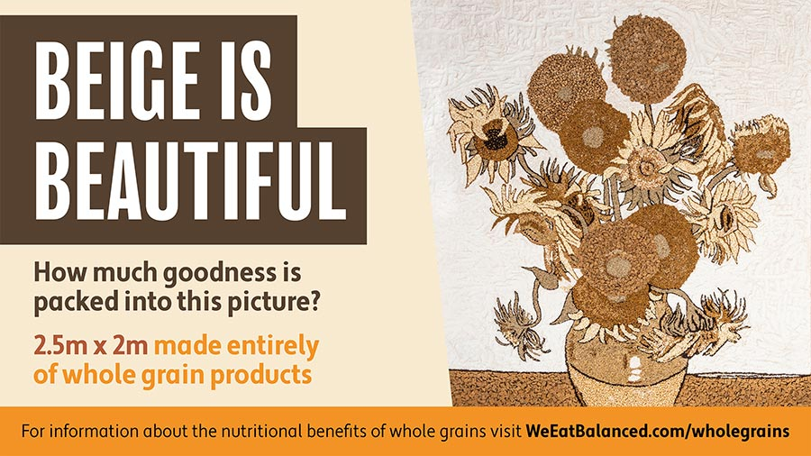 AHDB Beige is Beautiful campaign poster