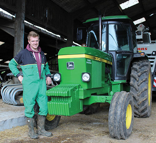 Jack Reed with JD 3040