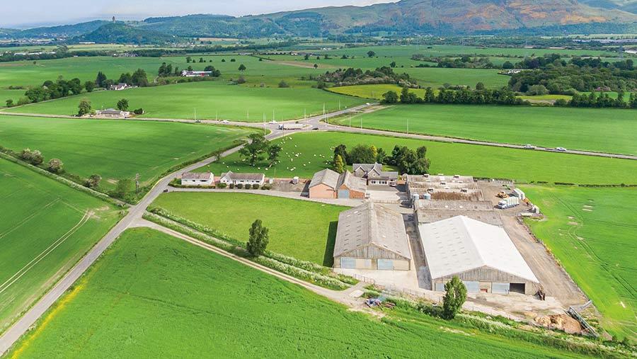 Dykes Farm, near Stirling