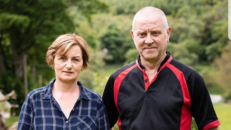 Glenda and Mike Crawshaw