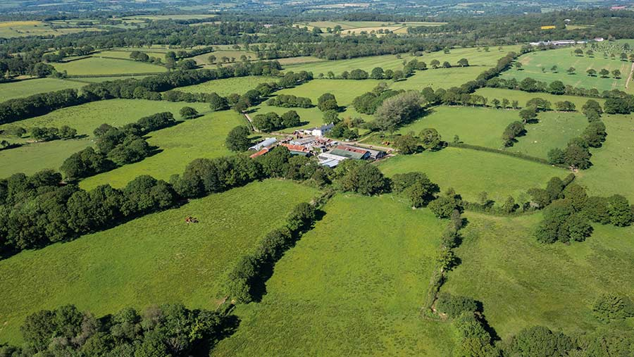 Langabeare Barton in Hatherleigh