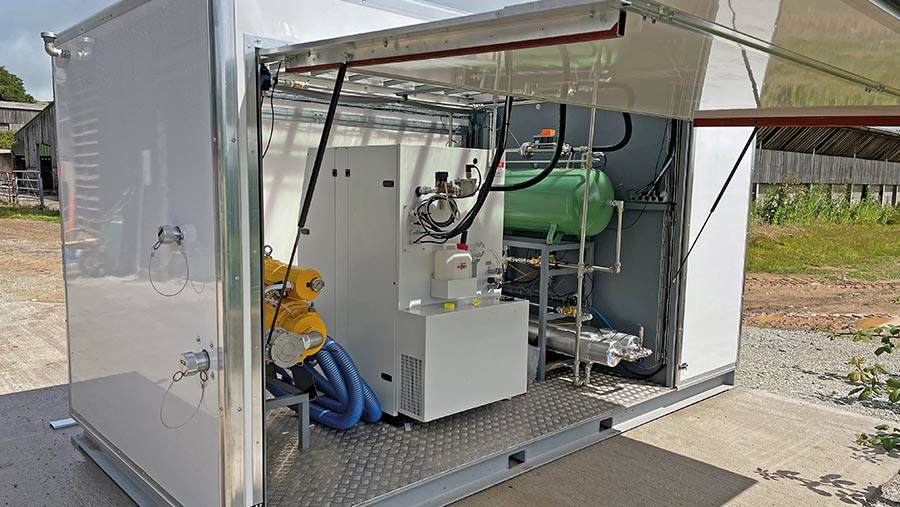Mobile gas processing unit