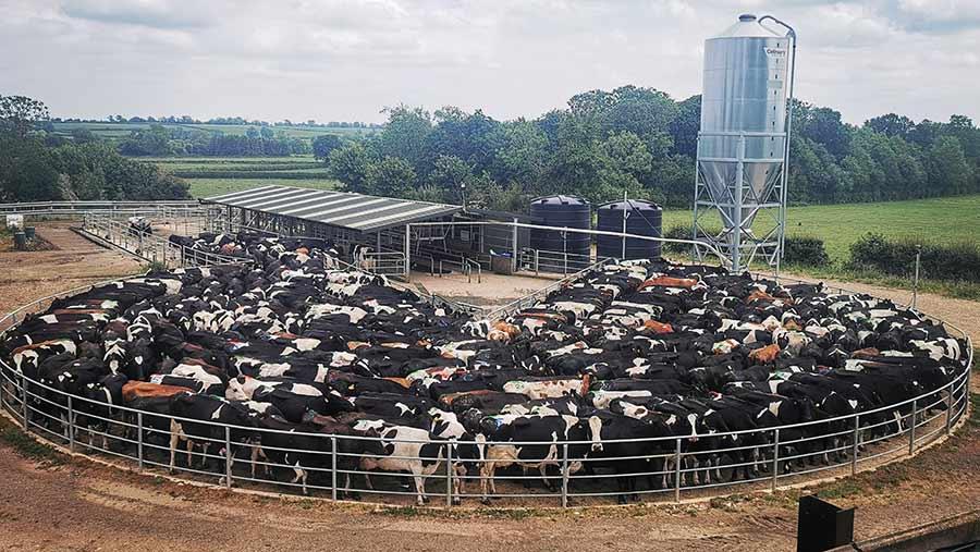 Milking parlour complex