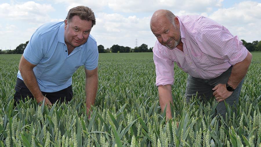 TonyPulham (left) and Michael Tew © MAG/David Jones