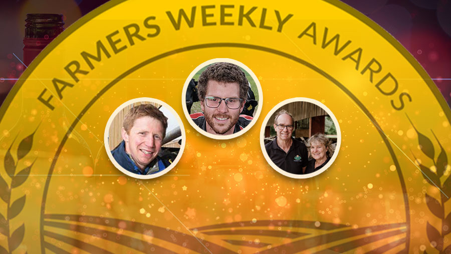 Farmers Weekly Awards: 2021 Dairy Farmer of the Year finalists