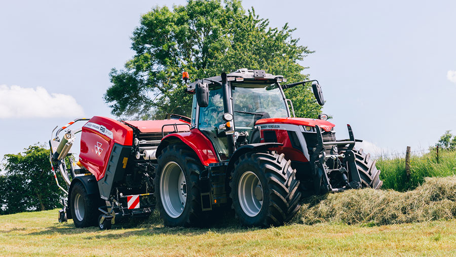 Massey Ferguson 6S and 7S models get new cabs - Farmers Weekly