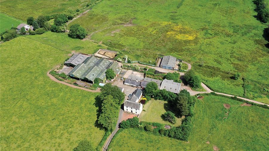 Barnkin of Craigs Farm