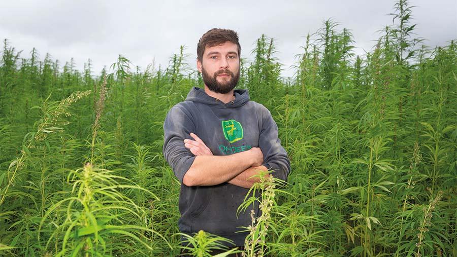 Ed Burman, finalista campeón medioambiental de los Farmers Weekly Awards