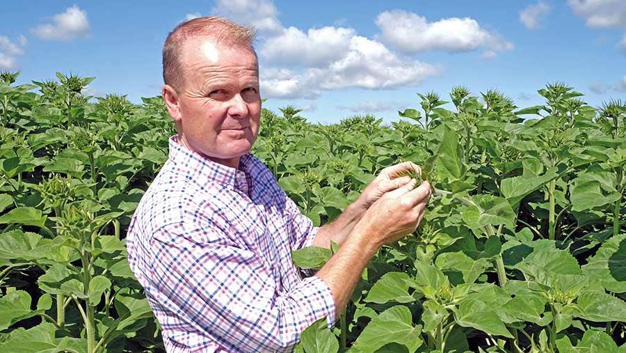 Edward Vipond, Farmers Weekly 2021 Farmer of the Year © Jason Bye