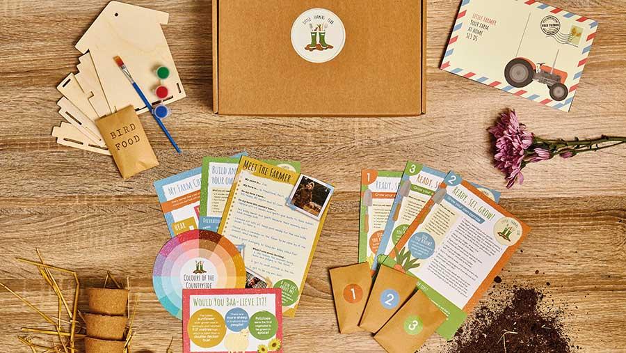 Little Farmers Club activity boxes