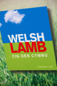 A poster showing a Welsh Lamb label