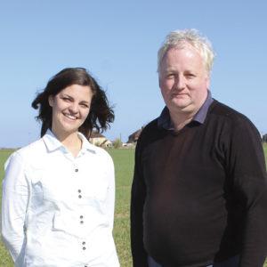 Kathryn Hamlen and Dean Bowd