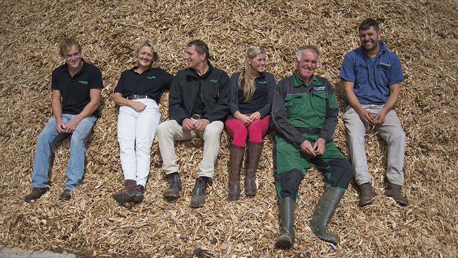 Members of the Green Waste Company