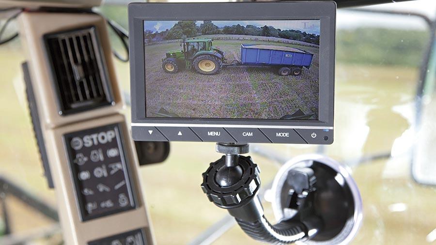 Reversing Cameras UK monitor