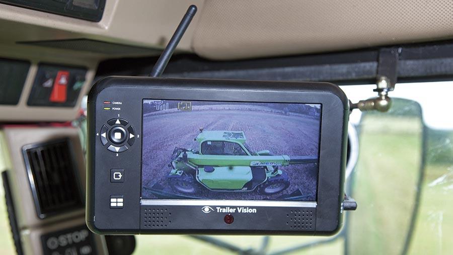 Trailer Vision Digi Max monitor