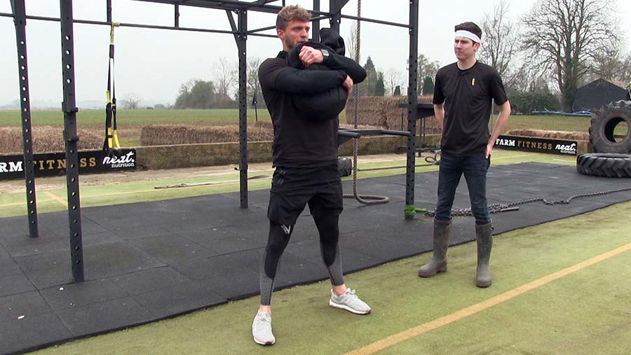 Tom Kemp squat exercise