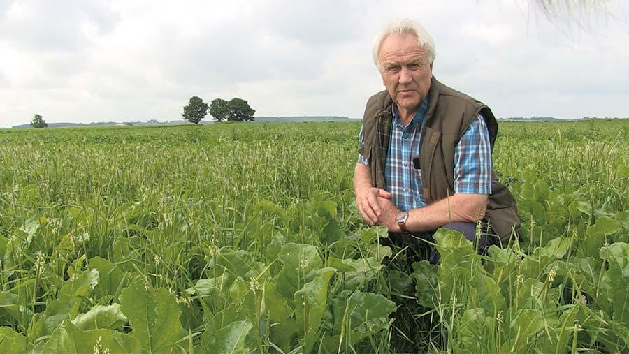 Paul Drinkwater in field