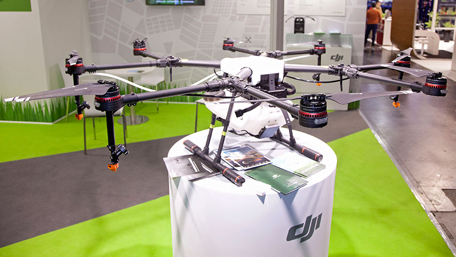 DJI MG-1S spray drone