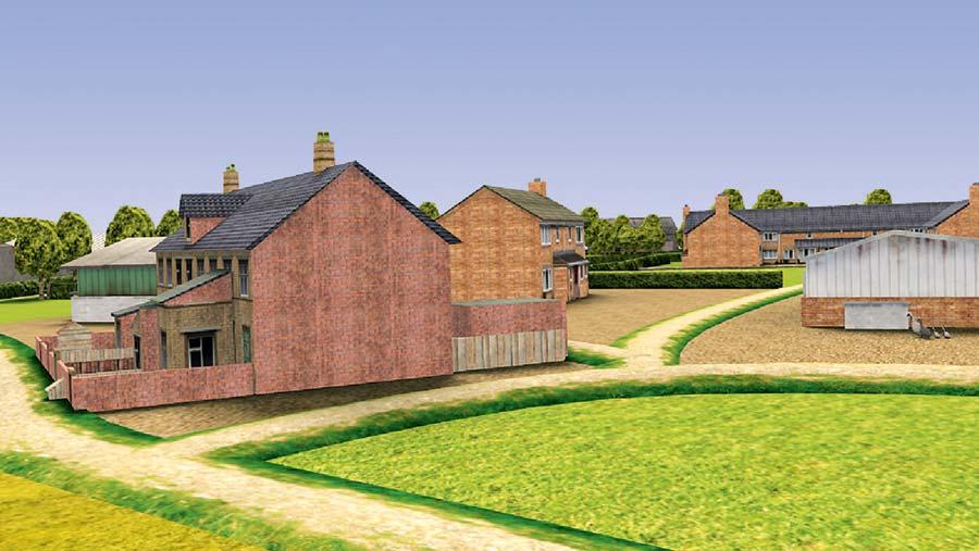 Virtual Farm farm view
