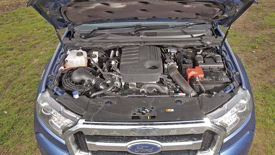 Ford Ranger Limited engine