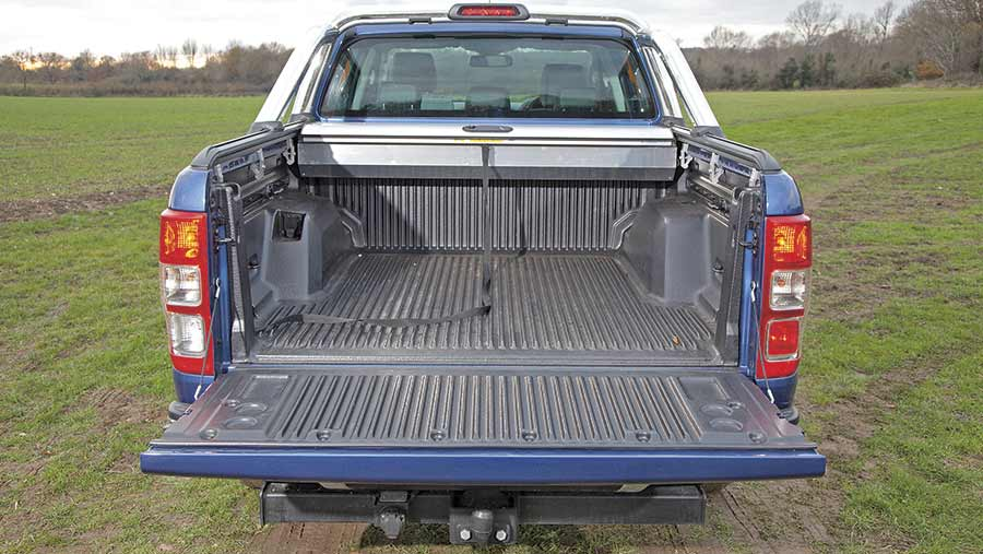 Ford Ranger Limited from the back