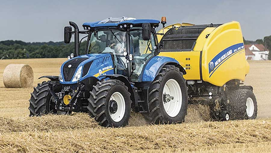 New Holland T6.180 tractor